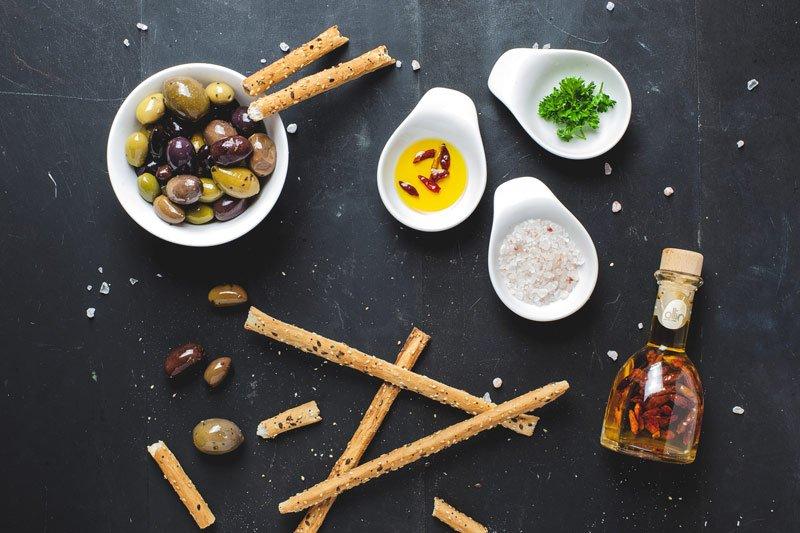 Olives oil salt Astoria Cafe Cleveland